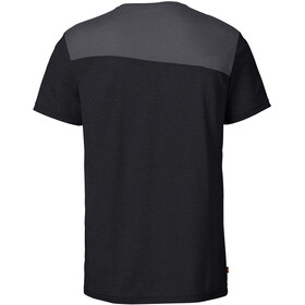 VAUDE Sveit Camiseta Hombre, black/black
